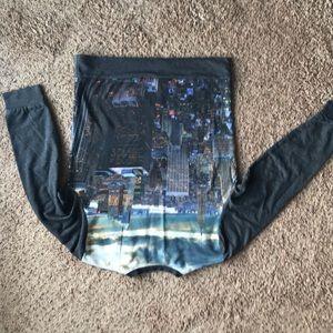 Tops - New York City Skyline Crewneck Jumper Crewneck Med